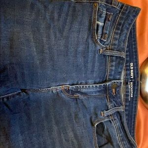OLD NAVY blue distressed jeans